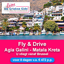 Griekse Gids Reizen Fly Drive Zuid Kreta