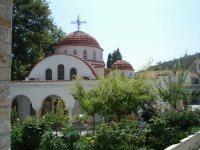 Griekse kerk op Lesbos.